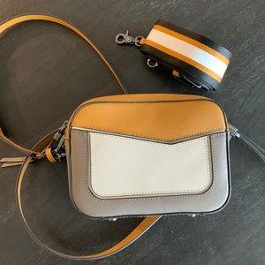 Botkier color block camera bag crossbody